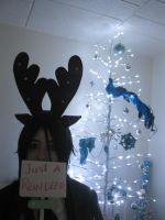 Sebastian - Just a Reindeer by zombie-tea-party