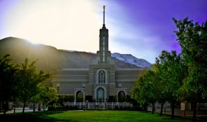 Timpanogos Temple by sonicmotion