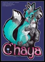 Chaya Chibi Badge 11 by AirRaiser