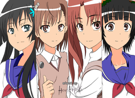 Hews draw To aru kagaku no railgun protagonist by Hews-HacK