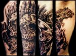 Black Death Sleeve session1 by sludger