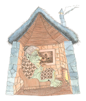 Ogre Cottage by LeighFive