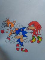 classic team sonic by artsonx