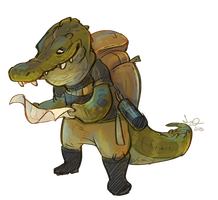 Travelgator by Shantyland
