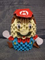 Mario 3D Origami Version 2 by ShinyoYushiro
