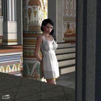 Roman Slave Girl 1 by Athenion