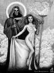 Death and the Maiden by KainMorgenmeer