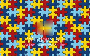 Windows 8.1 Wallpaper: Autism Blur by YoshiOG1