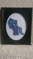 Cross Stitch - Luna Filly by RavageXeno