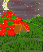 Strawberry avalanche by the-Rose-of-Blue
