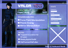 Dream Team app: Valor by Awkward-Nerdd