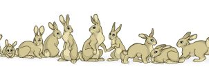 A Bunch of Bunnies by lyosha