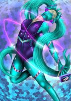 Hatsune Miku by cloudx5