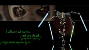 General Grievous Wallpaper by Happy-Pappy