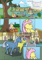 MLP 'On the day of Hearts and Hooves' pg 1 ENG by TheSpectral-Wolf