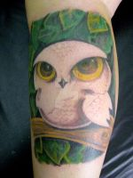 Owl Tattoo by micaeltattoo
