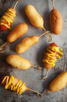 Mini Cheese Corndogs 3 by peachjuice