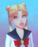 Sailor Moon by Narasura-of-Kashi