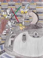 Senate Room Showdown by DarkKnightWolf2011