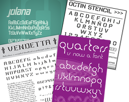 Stencil basic cool Fonts Pack by OpGraffiti