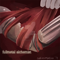 ::GIF:: Fullmetal Alchemist (Click to see) by cookiecreation