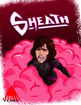 Sheath - Comic Cover by Boonchieboy