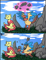 PKMNN - Rock Slide by Thalateya
