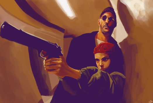Leon: The Professional by pcsiqueira