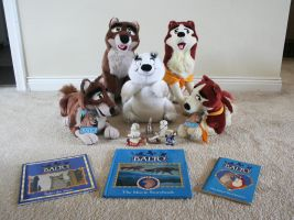 Balto Collection - Plushies, Books, and Figures by wolfcompanion