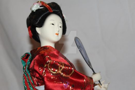 Antique China Doll by JaneInsanity