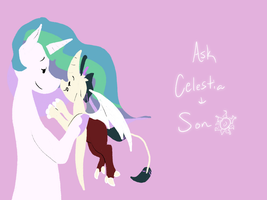 Celestia and Son by chipster-creates