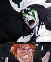 Ulquiorra and Ichigo by M-Shu