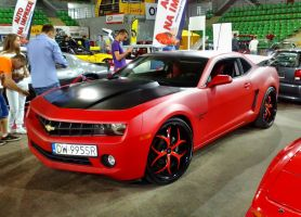 Red Camaro by Lew-GTR