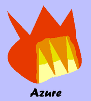 request:azure cutie mark by FunnyGamer95