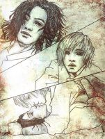 Peter and Caspian by IrbisN