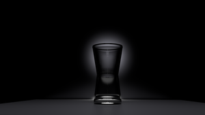Glass Cup Blender Rendering by r2ds