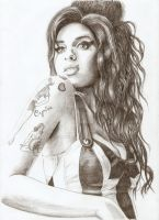 amy winehouse by pbwh