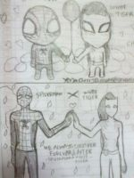 Spider-Man X White Tiger (Chibi and Anime Form) by Yeoja-CherryBlossoms