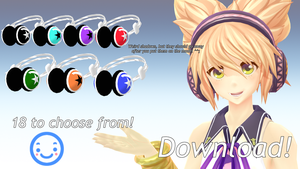 MMD - Headphones DL by Charbear000