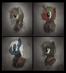 COMMISSION - Profile Shots by Brisineo