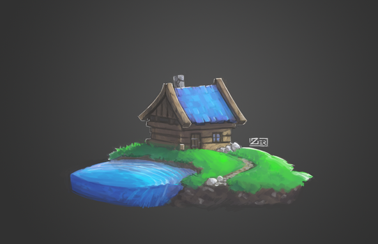 Cottage by Zer0Frost