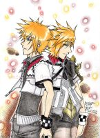 Ven and Roxas -Just like You by Sardiini