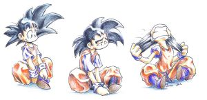 The shades of the Goku by dabean