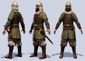 muslim soldier A by mojette