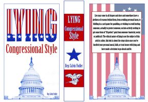 Lying Congressional Style Skill Book Cover by appleofecstacy