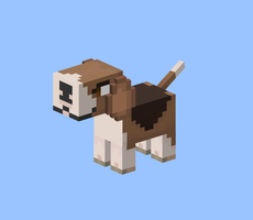 Minecraft: Beagle by s3ro-tan