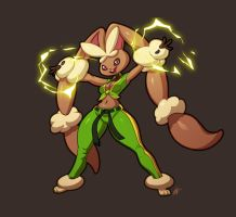 Lopunny / Laura by Seeso2D