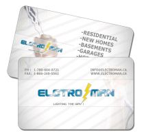 Elctro man b.card by moslima