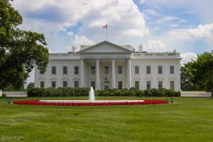 White House north lawn by CyclicalCore