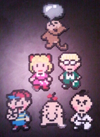 Earthbound sprites by DuctileCreations